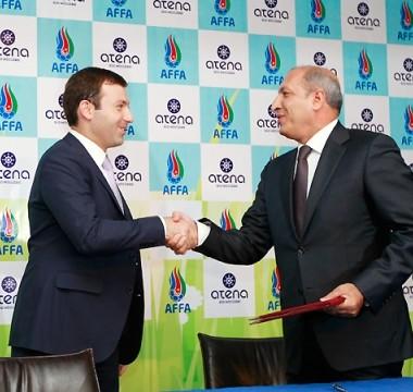 Atena şirkət və AFFA arasında əməkdaşlıq protokolu imzalanıb