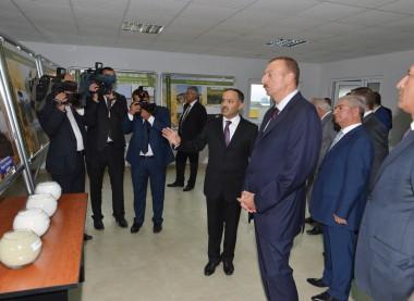 Cənab Prezidentin iştirakı ilə Atena zavodunun açılış mərasimi | Atena Süd və süd məhsulları