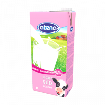 UHT молоко 0.1%