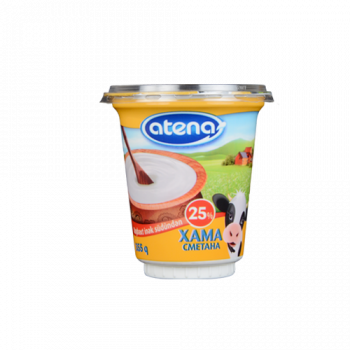 Sour cream 25% 355 gr